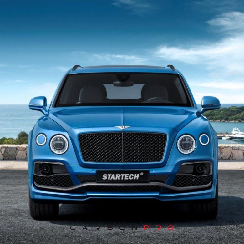 STARTECH carbon package front bumper – Carbon.pro