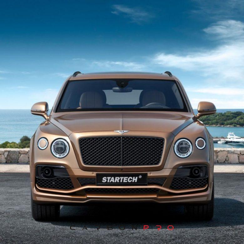 STARTECH front bumper – Carbon.pro