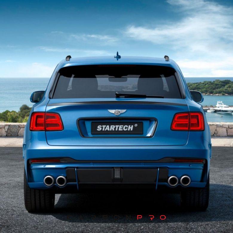 STARTECH rear bumper – Carbon.pro